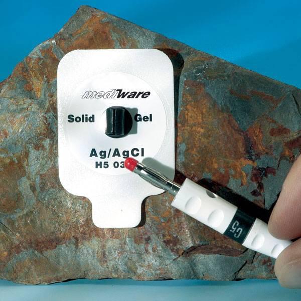 Mediware Rechteck-Elektrode Quick SPOT Solid Gel, 30 Stück