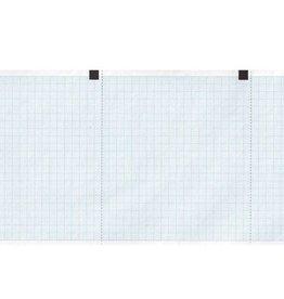GIMA ECG papier blue grid - 120 mm x 18 m - 130 mm x 27 m - 210 mm x 20 m - 50 mm x 30 m - 60 mm x 15 m