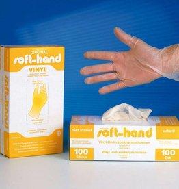 Medische Vakhandel Soft-hand Vinyl XS Onderzoekshandschoenen