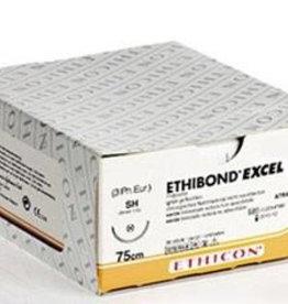 Ethicon Ethibond Excel usp 2/0, 75 cm, V-37 green 869G, 12 x 1
