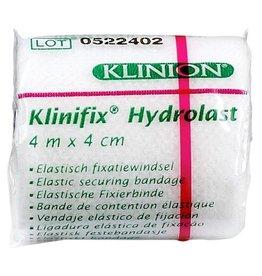 Klinion Klinion klinifix hydrolast elastisch fixatiewindsel 4 cm x 4 m wit 132227