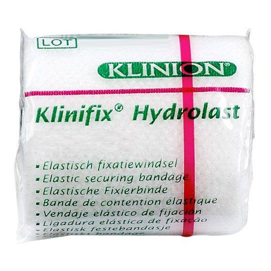 Klinion Klinifix hydrolast elastische Mullbinde weiß, 4 m x 6 cm, 132228