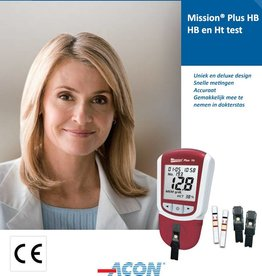 Acon Mission® HB Plus meter starter kit for Hemoglobin and Hematocrit