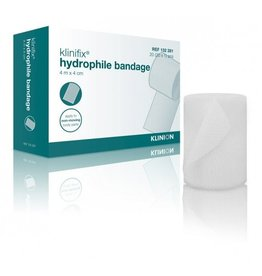 Klinion Klinion klinifix hydrophilic non elastic fixation bandage 4 m x 4 cm 132281