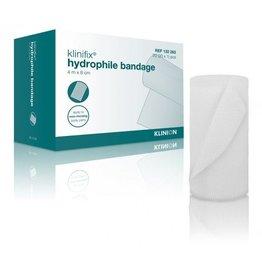 Klinion Klinion klinifix hydrophilic non elastic fixation bandage 4 m x 8 cm 132283