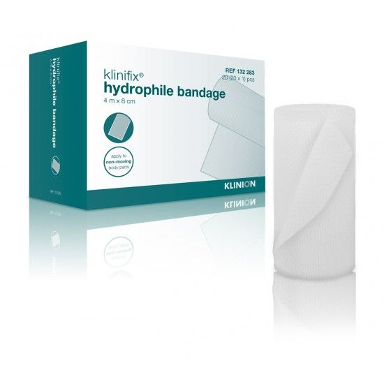 Klinion klinifix hydrophilic non elastic fixation bandage