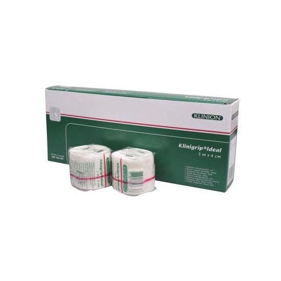 Klinion klinigrip ideal steunzwachtel stevig rekbaar 5 m x 4 cm wit 132440