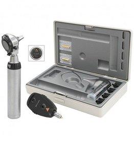 Heine HEINE Beta®400 LED F.O. Otoskop + Beta 200 LED Ophtalmoskop-Set mit USB Ladegriff A-153.28.387