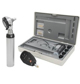 Heine HEINE BETA®400 LED F.O. OTOSCOPE + BETA 200 LED OPHTALMOSCOPE set with NT 4 table charger A-153.24.420