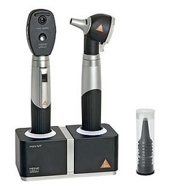 Heine HEINE MINI3000® LED F.O. OTOSCOPE OPHTALMOSCOPE Set with table charger