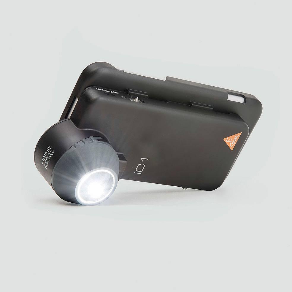 HEINE dermatoscoop ic1 set iphone 7 se K-273 28 305