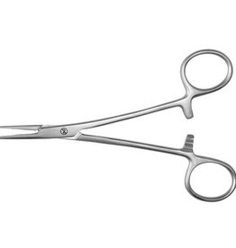 Servoprax Halsted anatomical mosquito forceps - 12.5 cm - disposable - 20 pieces