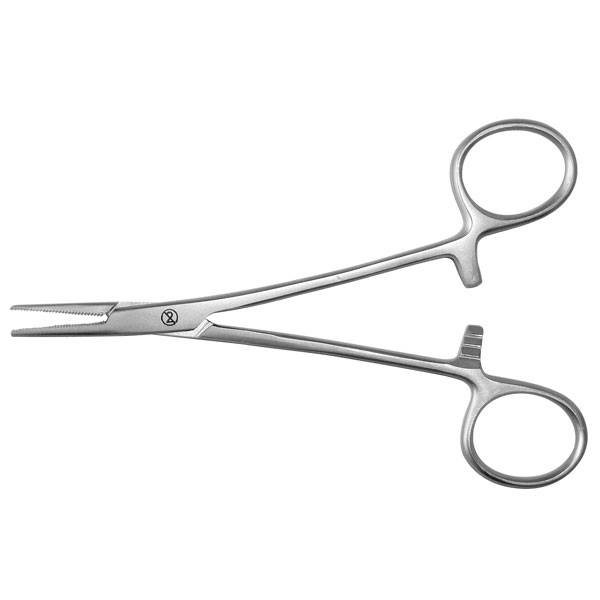 Halsted anatomical mosquito forceps - 12.5 cm - disposable - 20 pieces