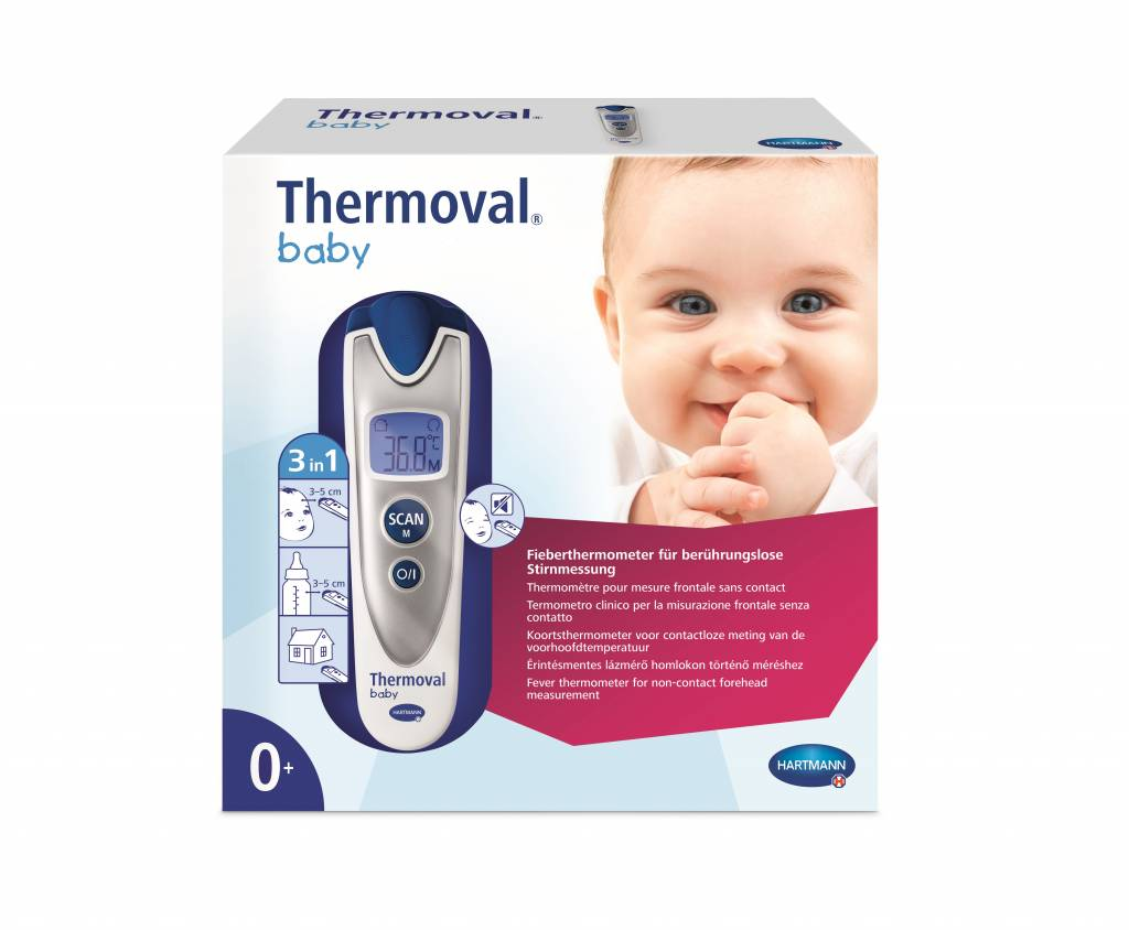 Thermoval® baby voorhoofdthermometer