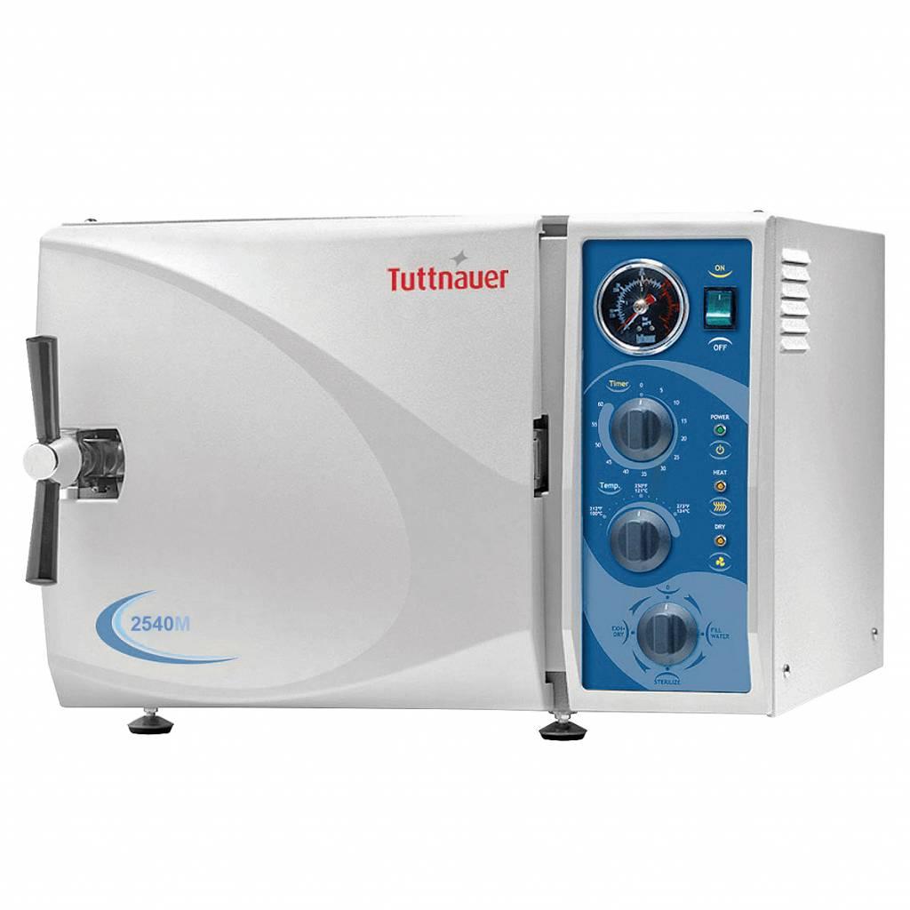 Tuttnauer autoclaaf 2540M semi-automatische sterilisator N-klasse