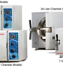 Tuttnauer Tuttnauer autoclaaf 3850M semi-automatische sterilisator N-klasse