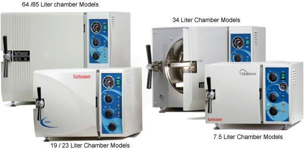 Tuttnauer autoclaaf 3850M semi-automatische sterilisator N-klasse