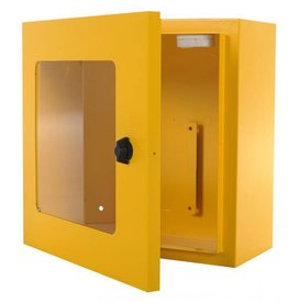 Defibtech AED Wall cabinet yellow and alarm