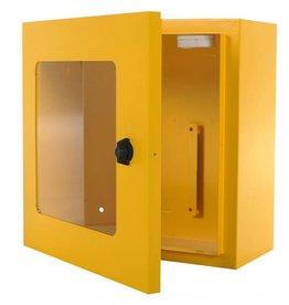 Defibtech AED Wandschrank gelb mit Alarm