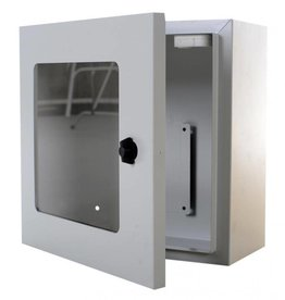 Defibtech AED Wall cabinet grey and  alarm