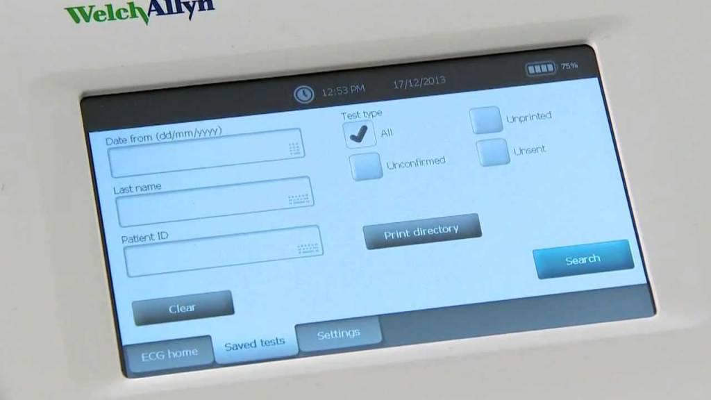 Welch Allyn EKG-Gerät CP150 ohne Interpretation