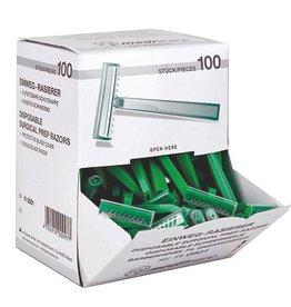 Mediware Mediware disposable razors - 100 pieces