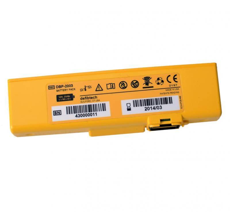 Defibtech Lifeline View AED Batterij Unit