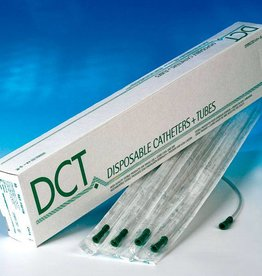 DCT DCT Suction catheter - straight - various sizes - 50 pieces