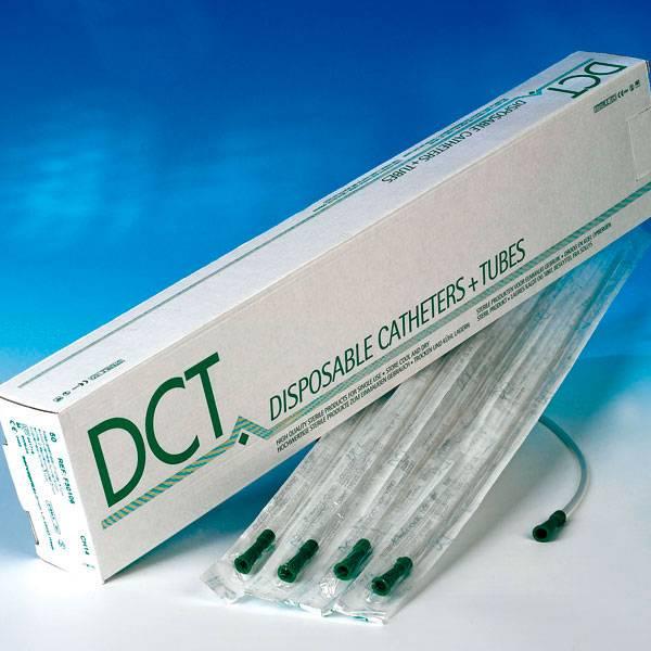DCT Absaugkatheter - gerade - 50 Stück
