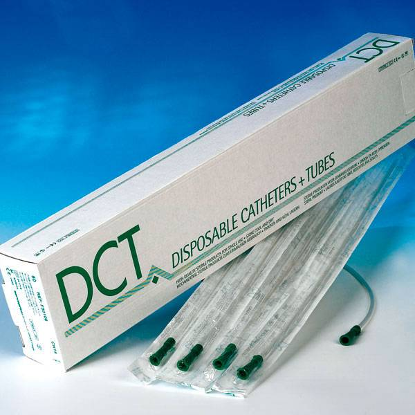 DCT suction  catheter - straight - various sizes - 50 pieces