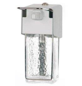 Servoprax Ingo-Top zeepdispenser - met glazen container