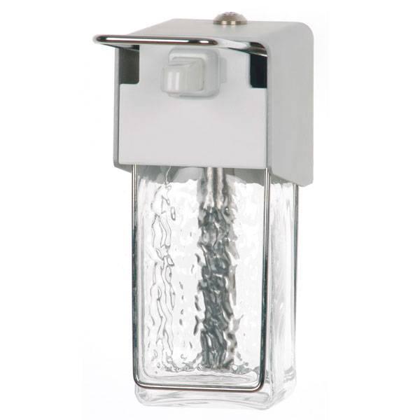 Ingo-Top zeepdispenser - met glazen container