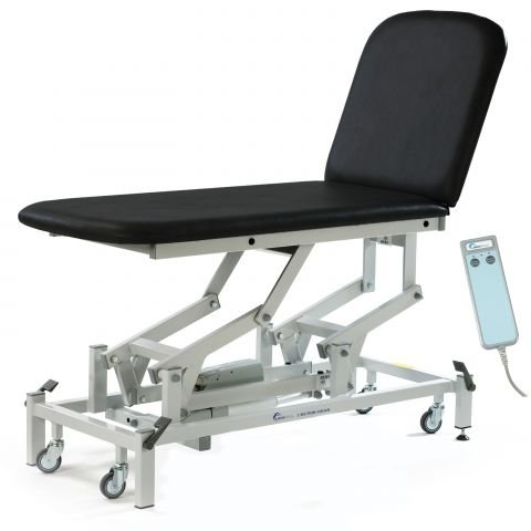 Seers Medicare 2 Section Examination Couch - electrical/hydraulic