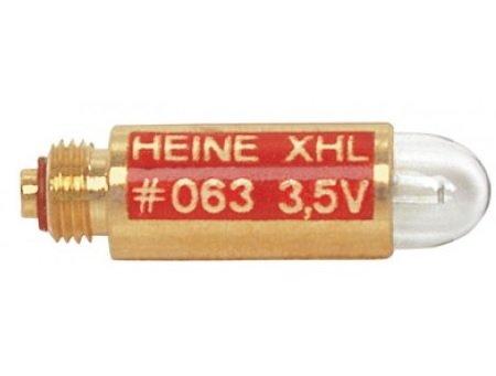 Heine XHL Xenon Halogen Ersatzlampe #63 X-002.88.063