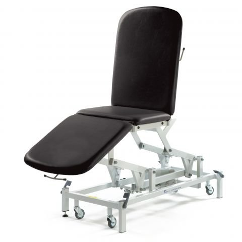 Seers Medicare 3 Section Examination Couch - electrical/hydraulic