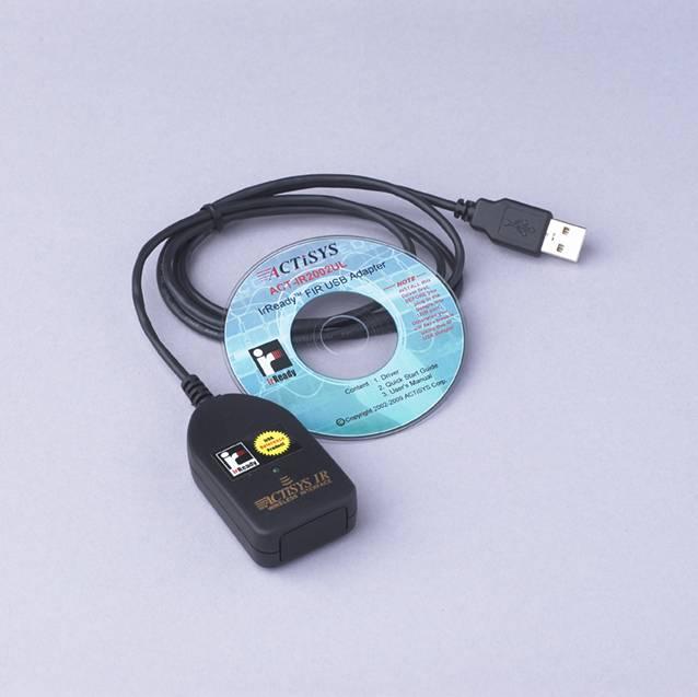 IrDA-Anschluss für Otowave 102-1 Tympanometer