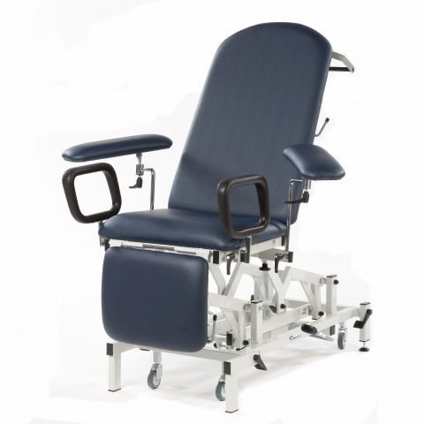 Seers Medicare Phlebotomy Examination Couch - Electric with manual backrest