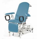 SEERS MEDICAL Seers Medicare Blutentnahmestuhl/Untersuchungsliege - elektrisch mit manueller Rückenlehne