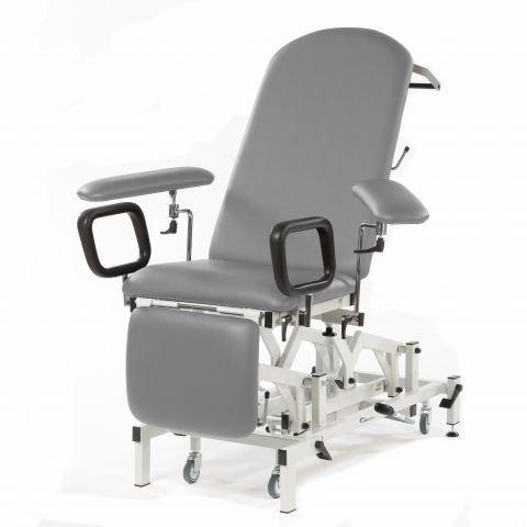 SEERS MEDICAL Seers Medicare Blutentnahmestuhl/Untersuchungsliege - elektrisch mit elektrischer Rückenlehne