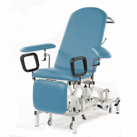 Seers Medicare Blutentnahmestuhl/Untersuchungsliege - elektrisch mit elektrischer Rückenlehne