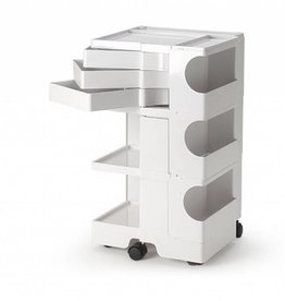 B-LINE Boby medical plastic trolley 3/3 with 3 drawers