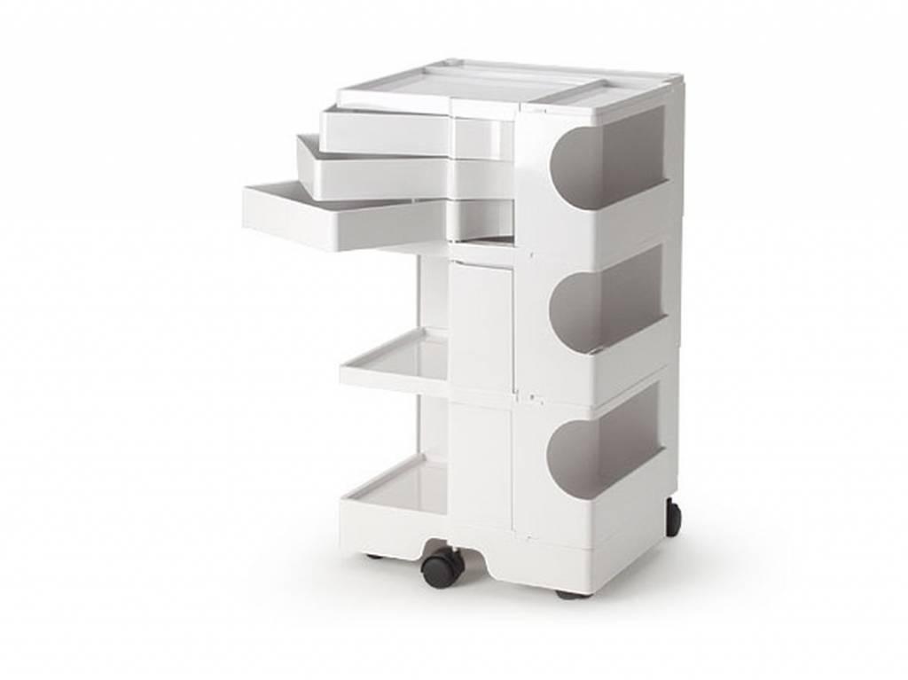 B-LINE Boby medical kunststof trolley 3/3 met 3 laden