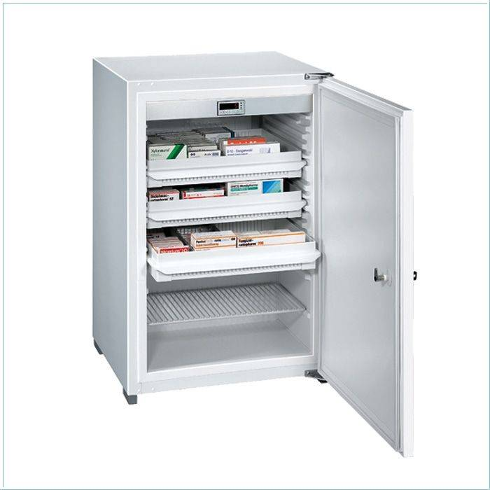 Kirsch medicine refrigerator / cooler MED125 - 125 liter - 540x535x810 mm - DIN 58345
