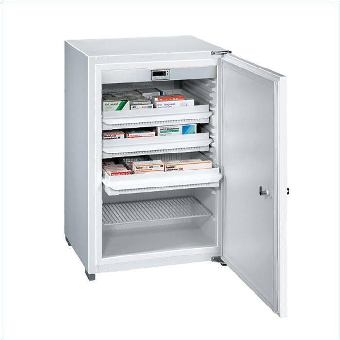 Kirsch Medikamenten-Kühlschrank MED-125, 125 Liter, 540 x 535 x 810 mm - DIN 58345