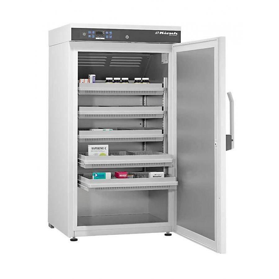 Kirsch medicine refrigerator MED288 - 280 liters - 670x700x1240 mm - DIN 58345