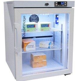 MediFridge MediFridge medicine refrigerator / cooler MF30L-GD - Glass door - 41 liter - 448x500x585 - DIN 58345