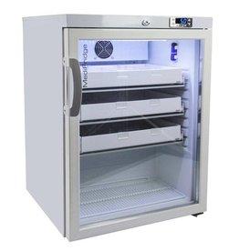 MediFridge MediFridge medicine refrigerator / cooler MF140L-GD - Glass door - 140 liter - 598x595x820 mm - DIN 58345