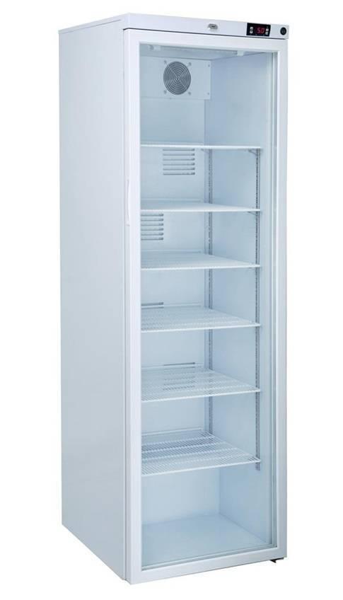 MediFridge Medizin Kühlschrank MF400L-GD - Glastür - 400 Liter - 598x595x1860 mm - DIN 58345