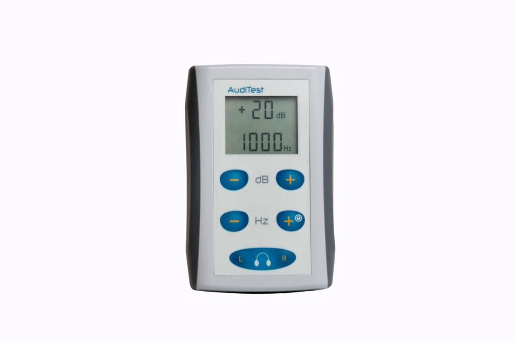 AudiTest - tragbares Audiometer, auch Zuhause anwendbar