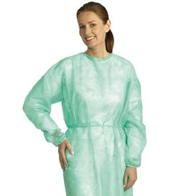 Mediware Protective jacket, non-sterile Mölnlycke 50 pieces Large 114 cm Long